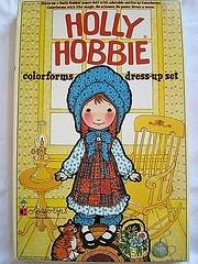 HOLLY HOBBIE colorforms