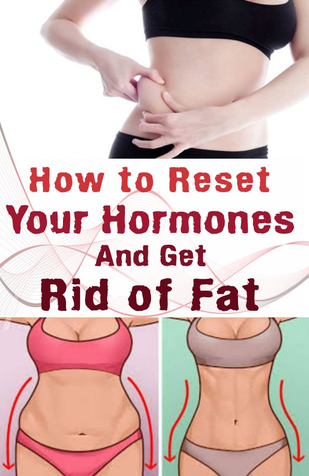 How to Reset Your Hormones And Get Rid of Fat