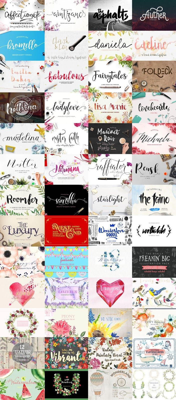 bundle-fonts-february-thehungryjpeg