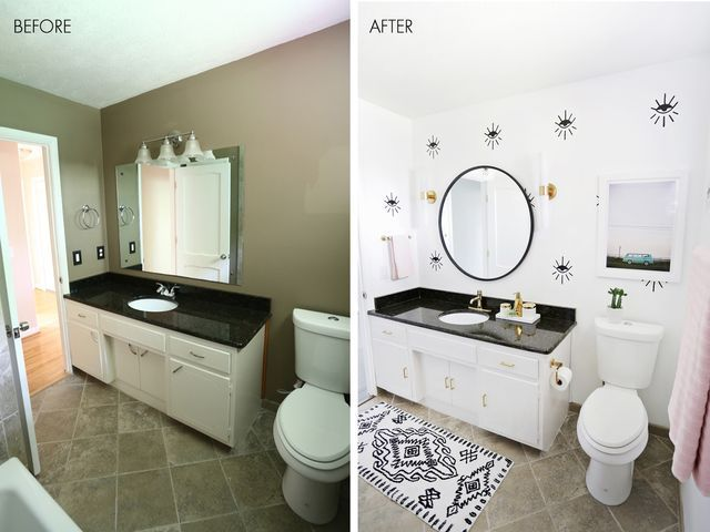 Best 25 Bathroom Before After Ideas On Pinterest  Before And Glamorous Bathroom Makeover Contest Design Decoration