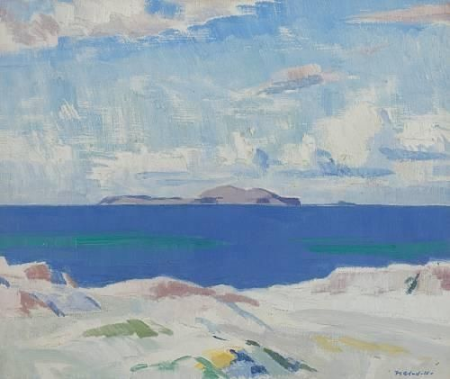 Francis Campbell Boileau Cadell, Iona looking to the Dutchman's Cap