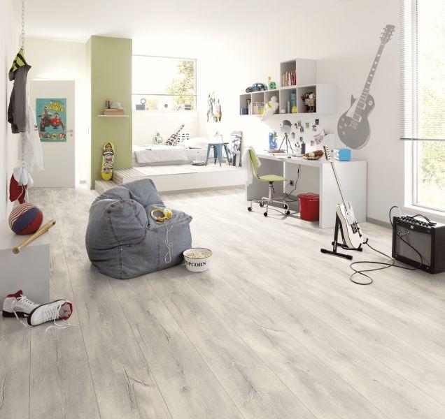 Grijze Vloer op Pinterest - Hallen, Grijze houten vloeren en Grijze ...