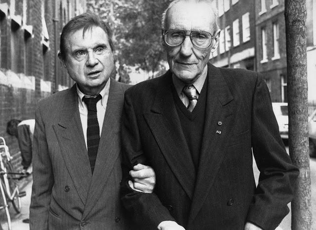 Bacon, Francis (1909-1992) and William Borroughs by John Minihan (1989) by RasMarley, via Flickr