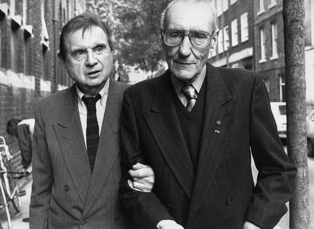 Bacon, Francis (1909-1992) and William Borroughs by John Minihan (1989) by RasMarley, via Flickr