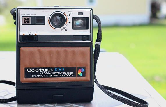 Vintage Kodak Colorburst 100 Kodak Camera Vintage Vintage