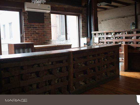 Le bar de la salle Grenier - Photo par Amypunky Photography
