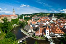 Prague Tourist GuidePraag Dagtochten, Excursies cesky krumlov, zuidelijk boheems platteland, parel van bohemen