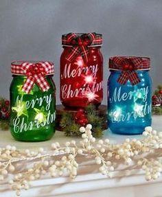 Mason Jars Twinkle Lights