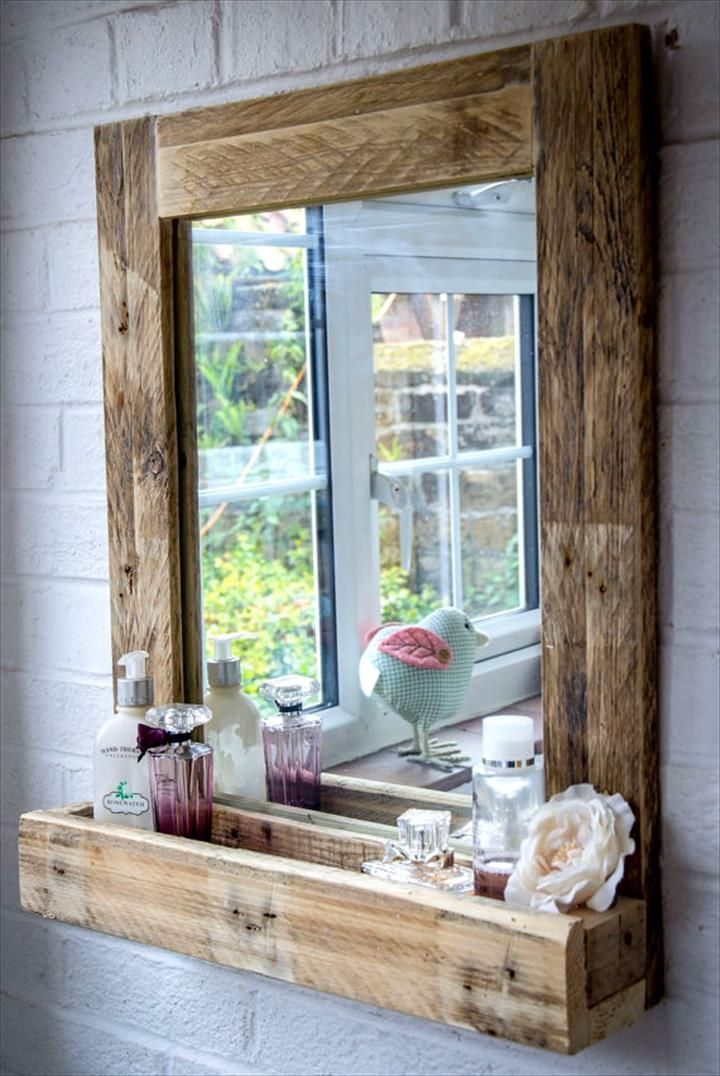 300+ Pallet Ideas And Easy Pallet Projects You Can Try   Page 8 Of 29.  Rustic Bathroom MirrorsBathroom ... Part 84