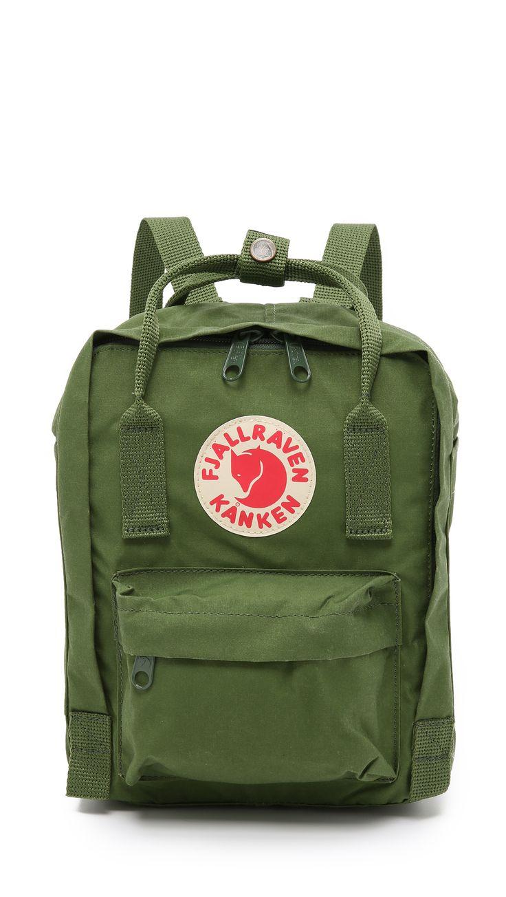 Fjallraven Kanken Mini Backpack - Leaf Green | SHOPBOP.COM saved by #ShoppingIS