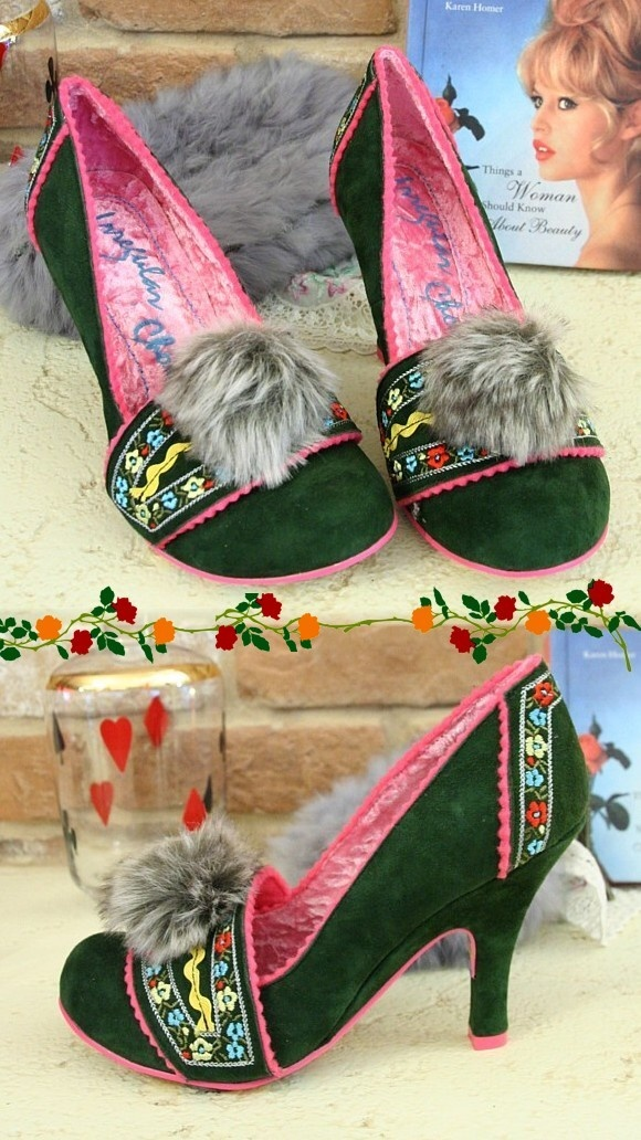 Dirndl shoes
