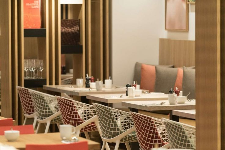 Holiday INN Frankfurt #hotel with kobi chairs  #design #interiordesign #furniture