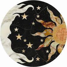The sun, moon, and stars.