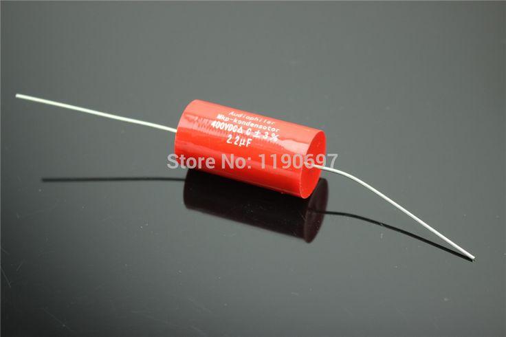 5 قطع audiophiler mkp-kondensotor 400vdc 2.2 فائق التوهج 3% الصوت مكثف شحن مجاني