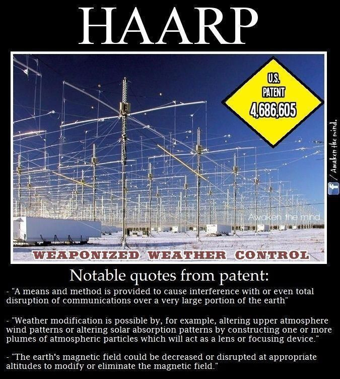 HAARP: Secret Weapon Used For Weather Modification ...