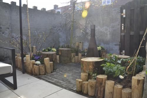 Creatief met boomstammen - Eigen Huis en Tuin