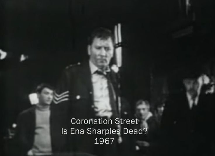 James Beck as a Policeman in Coronation Street 1967