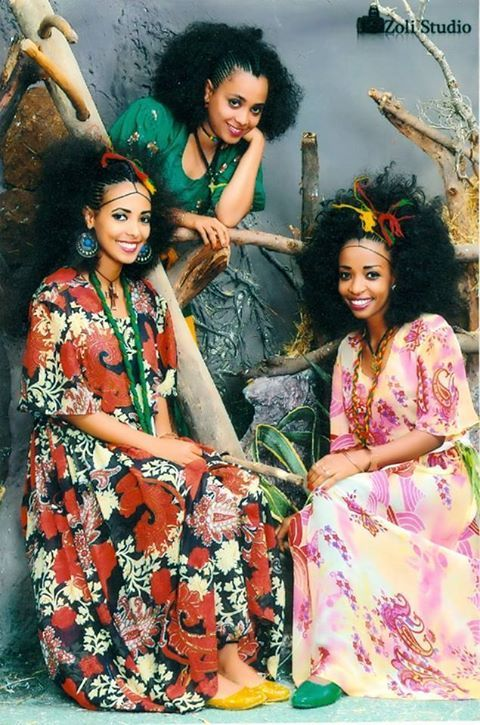 Traditional Ethiopian hair styles