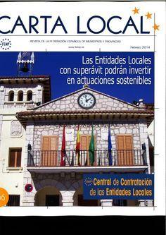 Carta local. Revista de la Federación española de municipios y provincias. http://www.femp.es/cartalocal_front