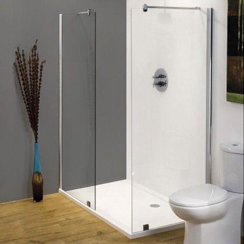 Minimalist 1500mm x 800mm walk in shower tray future for Walk in shower tray