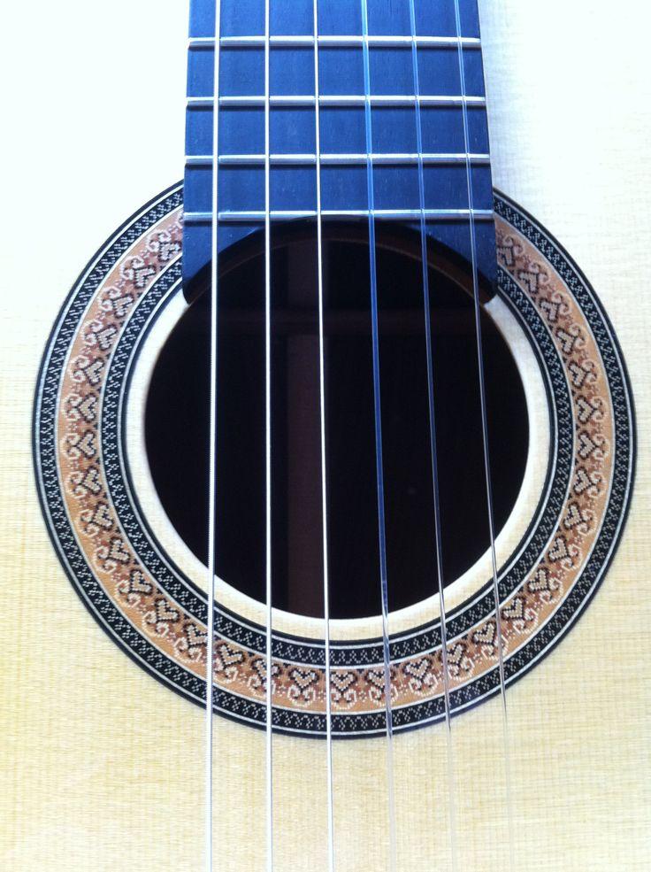 Classical Guitar Rosette... Domenic Roscioli Guitars