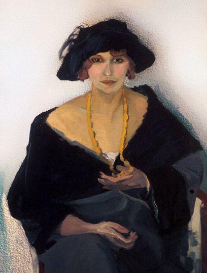 Cornelis Theodorus Maria van Dongen (aka Kees van Dongen or Van Dongen 1877~1968)   Fauvism --?