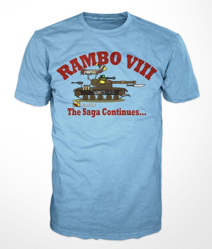 John Rambo - RanZar shirt