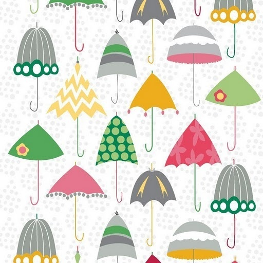 rainy day....I bought this print on fabric last year...love it