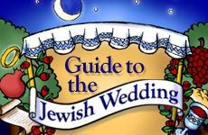 Guide to the Jewish Wedding - Learn the deeper significance of a Jewish wedding ceremony and Jewish wedding traditions, Kiddushin, Ketubah