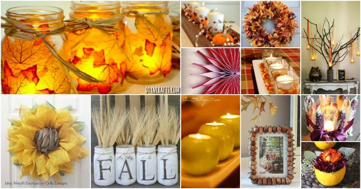 60 Fabulous Fall DIY Projects To Decorate And Beautify Your Home via…