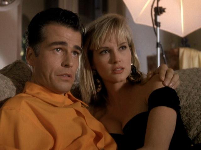 Ian Buchanan and Rebecca Staab in Columbo Cries Wolf