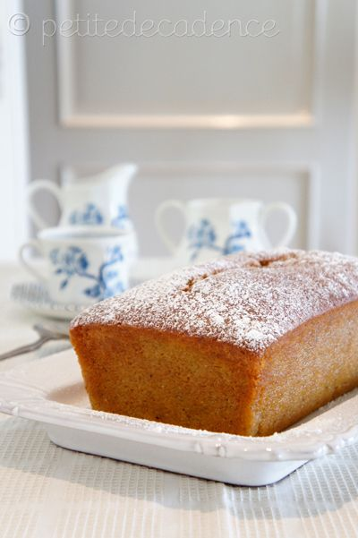 Spiced orange & grand marnier pound cake