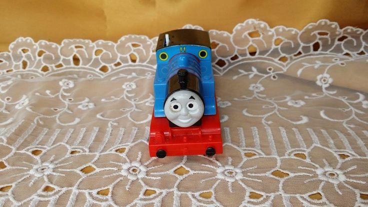 Thomas the Train & Friends Trackmaster #1 Motorized Thomas Engine Gullane 2009 #GullaneMattel