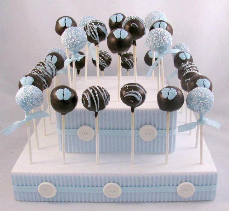 Birthday Cake Blue with Lollipops  #happy_birthday #happy_birthday_wishes #birthday