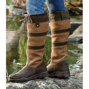 Middleburg boots--perfect for the horse barn and field.