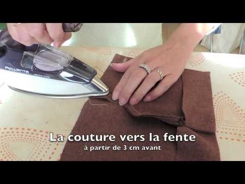 Taillor sleeve vent with lining DD - YouTube