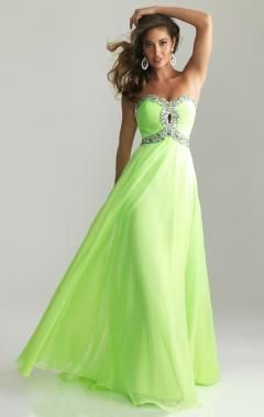 Best sales green formal dresses