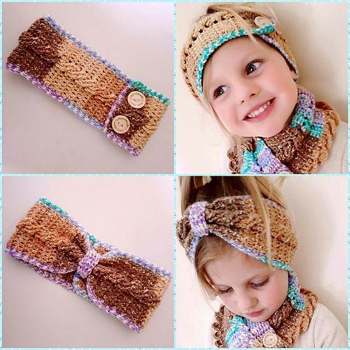 Mejores 431 imágenes de Crochet Headband Ear Warmer en Pinterest ...