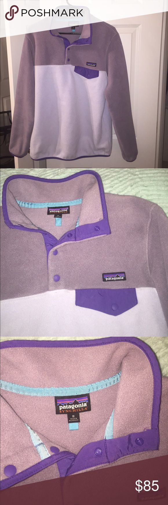 Patagonia pullover Purple Patagonia pullover. Last sale fell through so relisting. In excellent condition! Patagonia Tops Sweatshirts & Hoodies