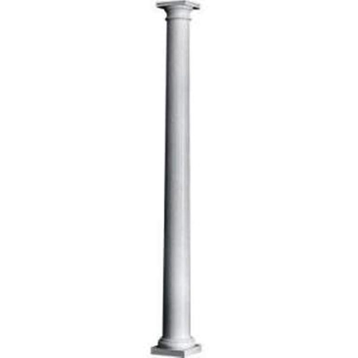 HB&G 8 in. x 8 ft. Permacast Column-5712-0808 - The Home Depot