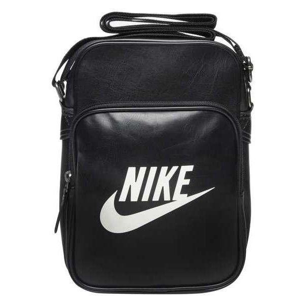 Nike Heritage Small Items Bag featuring polyvore, fashion, bags, handbags, accessories, nike handbags, nike purse, nike bag and nike