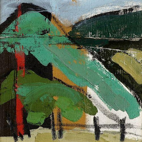 Landscape oil painting 15-099