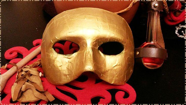 Maske des Namenlosen fürs LARP