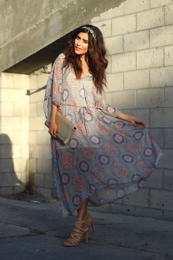 caftan and clutch