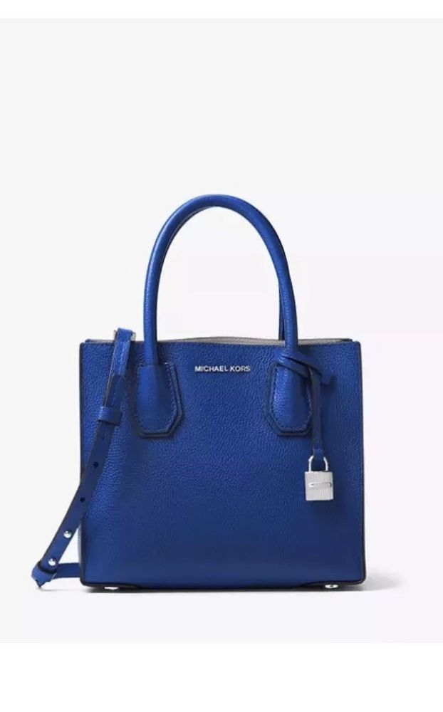 da145bc9bac98a MICHAEL KORS MERCER ELECTRIC BLUE NWT: $129.00 End Date: Thursday  Sep-27-2018 20:09:52 PDT Buy It Now for only: $129.00 Buy It Now | Ad… | Women  Purses ...