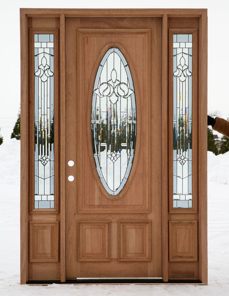 198 best entrance door images on pinterest entrance for Front door and sidelights