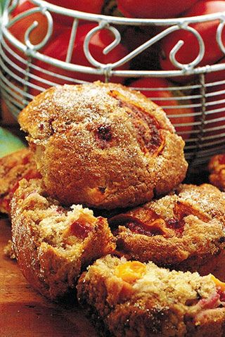 Tamarillo And Cinnamon Muffins | Allyson Gofton