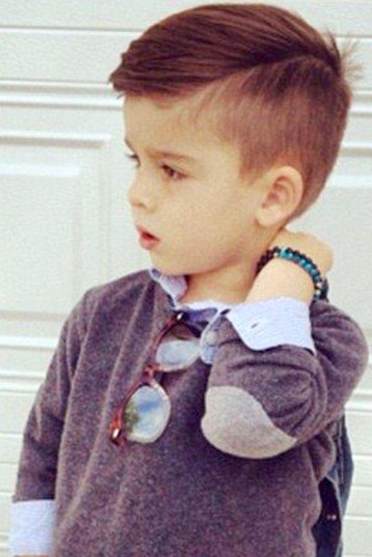 Pin By Veronica Sandoval On Boys Haircut Little Boy