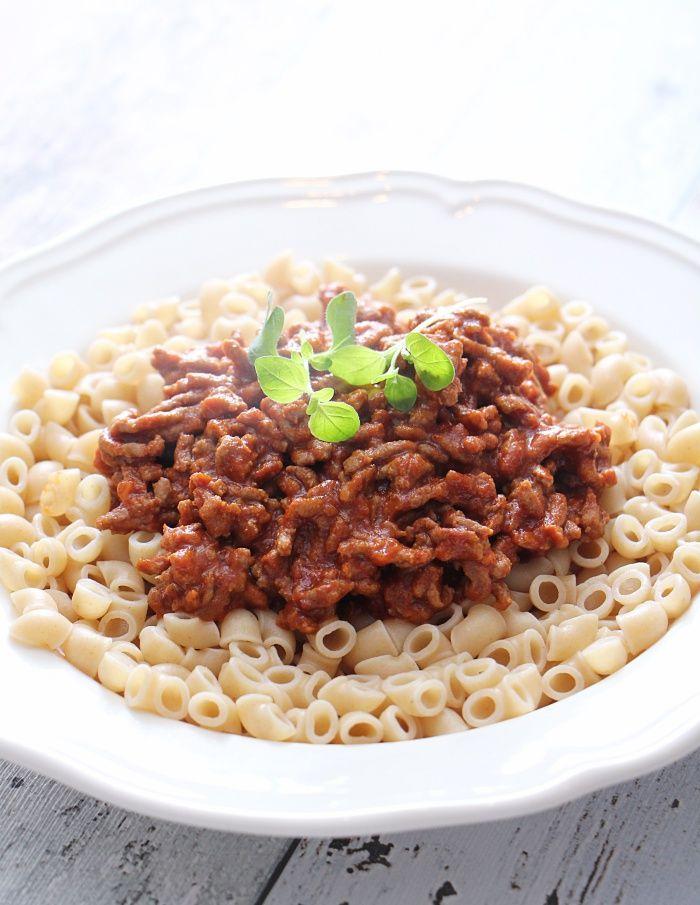 Makaroni bolognese