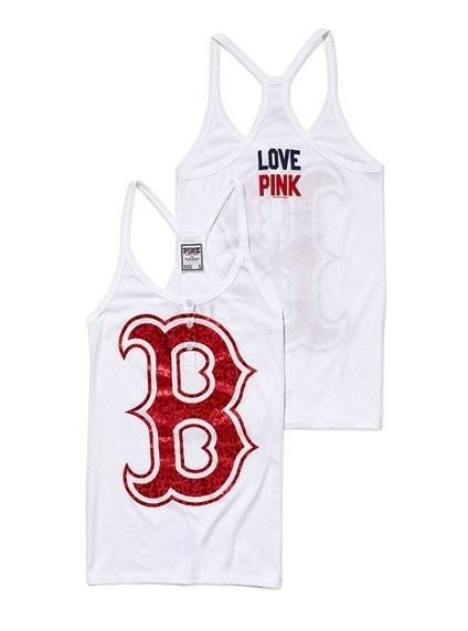 Boston Red Sox Henley Racerback Tank - Victorias Secret Pink - Victorias SecretCall Fashion, Victoria Secret Pink, Style, Redsox, Henley Racerback, Sox Henley, Baseball'S Mom, Racerback Tanks, Boston Red Sox